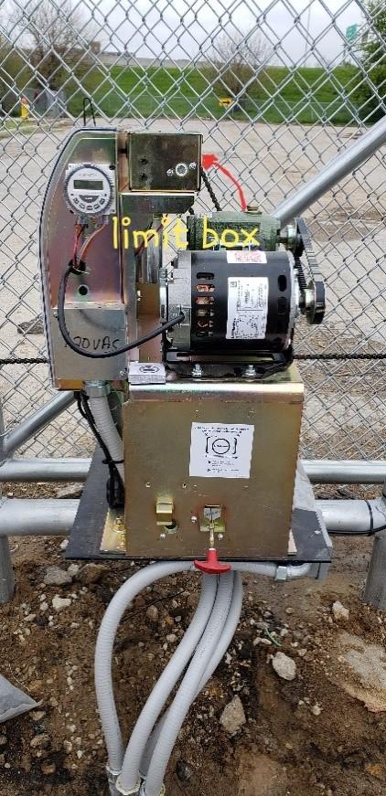 Gate limit box