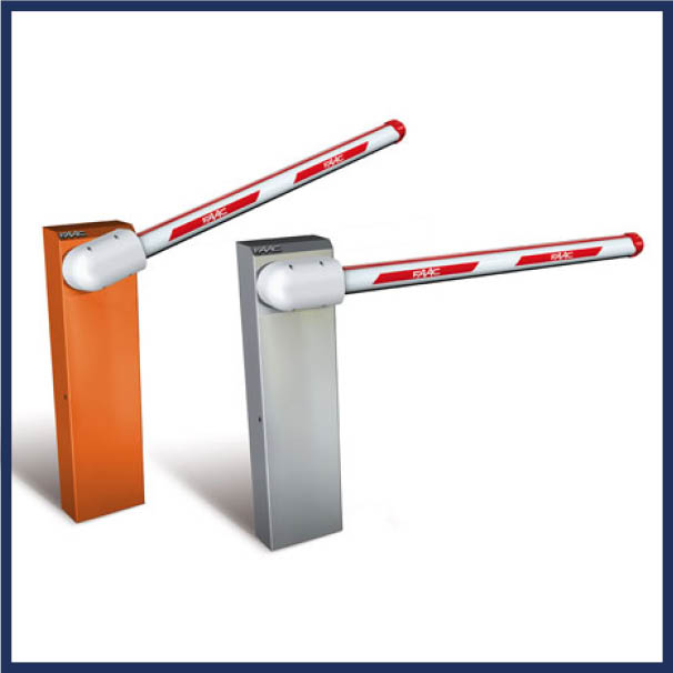 FAAC hydraulic barrier arm