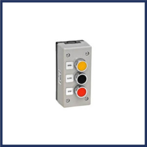 3 button surface mount control station