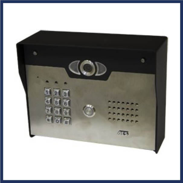 SEA video gate intercom with Wi-Fi capabilities.  Wi-Fi Compatible. Simple set-up by mobile phone. View gate any time using monitoring mode.