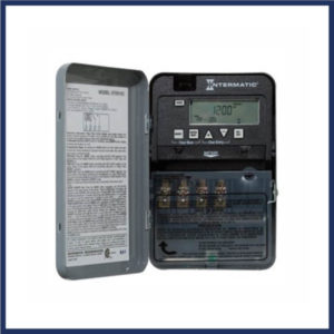 7 day electric gate timer Up to 3 years backup protection. Lockable housing. Daylight savings time corrections.