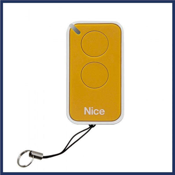 Nice Apollo Gate Remote/Transmitter.  Fits easily in car, purse or hand. Easy programming. Available in multiple colors.