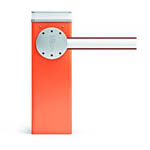 Nice orange barrier arm for vehicle and traffic control